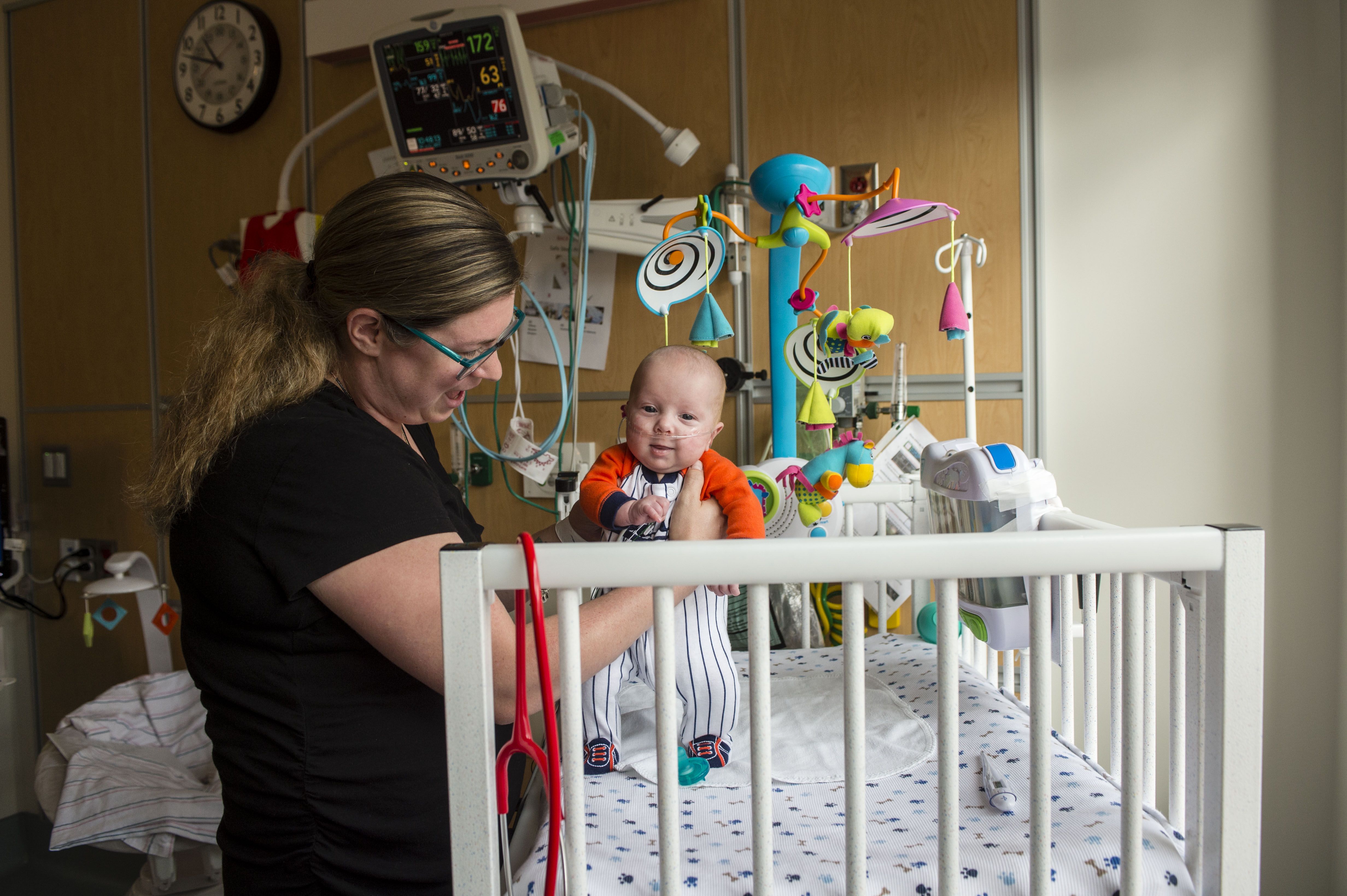 Single patient rooms offer added privacy for families