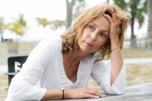 stress out woman