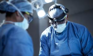 doctors performing procedure